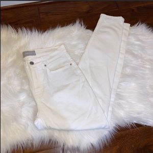 Everlane White Skinny Jeans Size 28